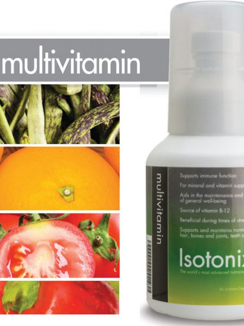 mulitivitamin in isotonic solutions